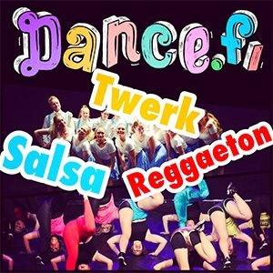Tanssikoulu Helsinki Dance.fi Twerk, Salsa, Reggaeton tunnit